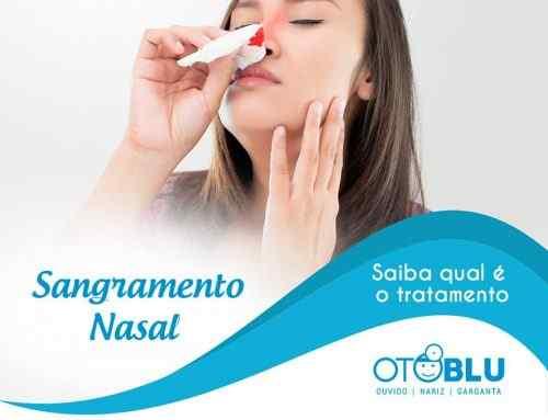 Tratamento para Sangramento Nasal